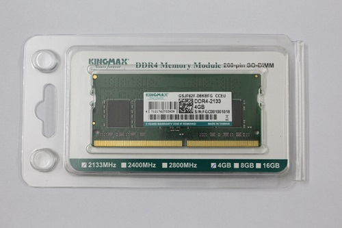 Ram Laptop Kingmax 4GB DDR4- 2133Mhz