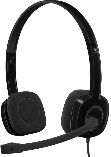 Tai nghe LOGITECH Stereo Headset H151