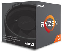 CPU AMD Ryzen 5 1600X  3.6 GHz (4.0 GHz with boost) / 16MB / 6 cores 12 threads / socket AM4