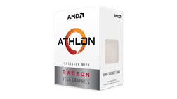 CPU AMD Ryzen Athlon 240GE 3.5 GHz / 5MB / 2 cores 4 threads / Radeon Vega 3 / socket AM4 / 35W