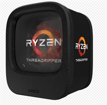 CPU AMD RyzenThreadripper 1950X 3.4 GHz(up to 4.0 GHz)/32MB/16 cores 32 threads/socket TR4(no fan)