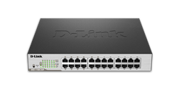 DGS-1100 Series Smart Managed 24-Port Gigabit PoE Switch