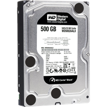 WD HDD Caviar Black 500GB 7200Rpm, SATA3 6Gb/s, 64MB Cache
