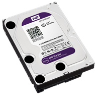 WD HDD Caviar Purple 1TB Sata 3
