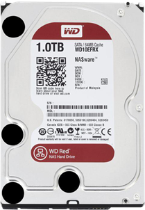 WD HDD Caviar Red 1TB  7200Rpm SATA3 6Gb/s 64MB Cache