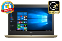 Laptop Dell Vostro 5568-077M512 (Gold)- Intel Kabylake