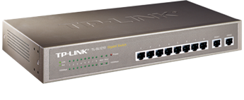 Switch TP-Link TL-SL1210 Unmanaged Gigabit-Uplink Switch