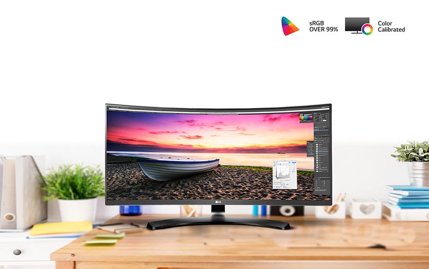 Màn Hình Cong LG 29UC88-B29″ Curved UltraWide Monitor