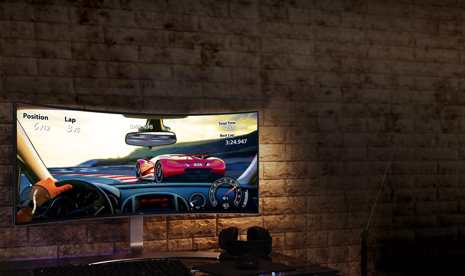 Màn hình LG 34UC98 với công nghệ GAME MODE